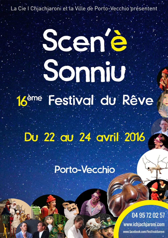 Festival du Rêve - Scen'è Sonniu - Edition 2016